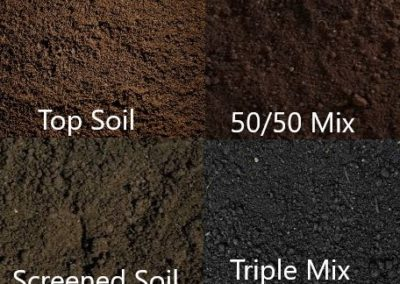 Screened Topsoil Top Dressing Soil Triple Mix 50/50 Mix